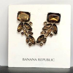 Banana Republic Statement Earrings NWOT
